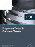 Propulsion Trends in shipping industry