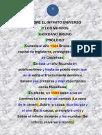 Sobre El Infinito Universo Y Los Mundos // Giordano Bruno