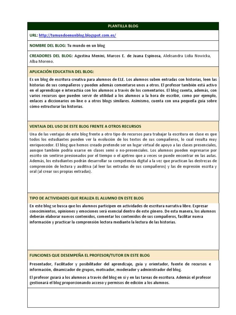 Plantilla Blog Cv-1
