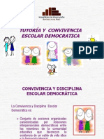 TUTORÍA Y  CONVIVENCIA ESCOLAR DEMOCRATICA