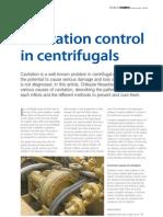 Cavitation Control