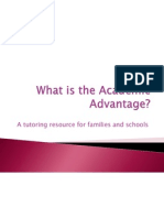 What is Academic Advantage?
