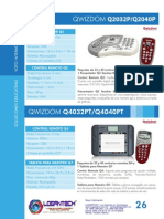 Soluciones Educativas Voto Interactivo Qwizdom Catalogo www.Logantech.com.mx Mérida, Yuc.