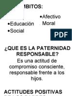 Cuadros de Paternidad Responsable