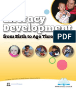 Literacy Development From Birth to Age Three