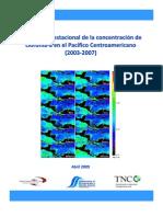 Variabilidad estacional de la concentración de clorofila-a en el Pacifico Centroamericano (2003-2007)