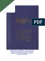 3 Especificaciones de Construcción de Obras de Acueductos y Alcantarillado INOS 1976