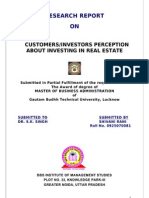 976. Customers - Investors Perception About Investing in Real Estate1