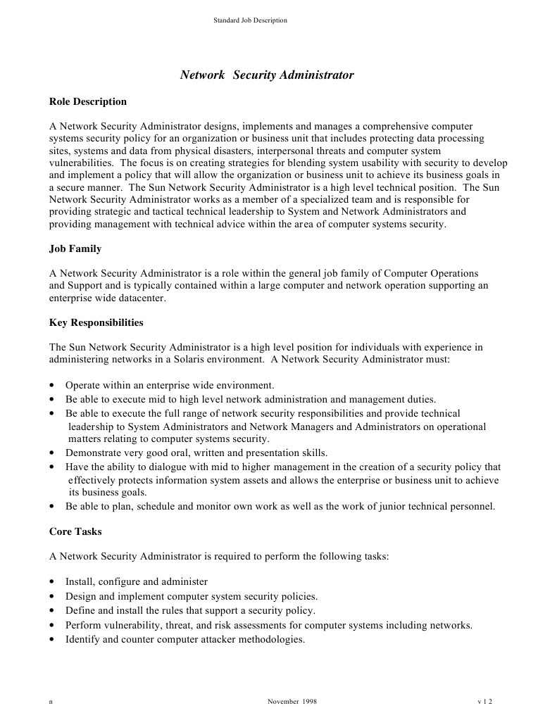 seg_rdes system administrator computer security