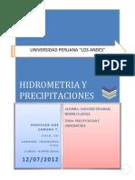 HIDROLOgia-hidrometria