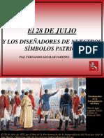 El 28 de Julio Independencia Del Peru Nc2ba 33