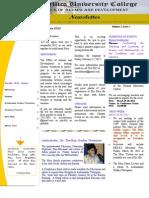 Newsletter Jan 2012