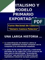 Capitalismo y Modelo Primario Exportador