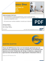 SAP Business One - Manual de Addon de Sistema de Requerimientos