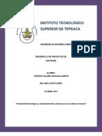 Desarrollo de Proyectos De Software (Antologia)