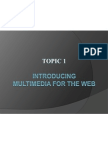 Mod1a Introducing Multimedia for the Web