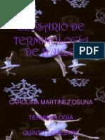 ballet,glosario