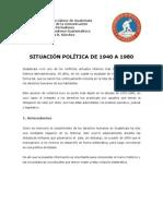 Situacion Social 1940 1980