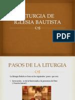 Liturgia de Iglesia Bautista