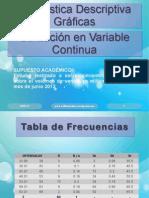 Gráficas Estadísticas