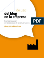 Manual del uso de Blog para empresas