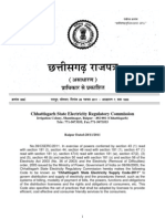 Chhattisgarh State Electricity Supply Code-2011