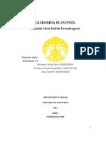 Glikosida Flavonol Makalah