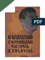 O Marxismo e Problema Nacional e Colonial - Stalin - (XX)