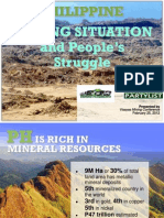 PH Mining Situation by Kalikasan 2012