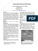 Interactive Webmaster