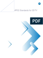 WP MPEG Standards for 3DTV