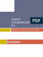 Chest Pulmophysiotherapy