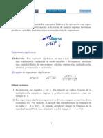 Evaluación de Expresiones Algebraicas