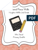 2nd Grade Focus Walls