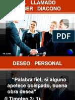 DIÁCONOS INSTRUCCIÓN