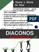 DIACONOS INSTRUCCIÓN