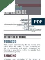 Powerpoint Presentation - Cigarette Smoking