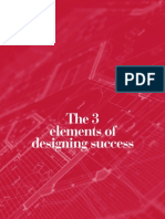 SingXpress Annual Report 2012 - The 3 Elements of Designing Success