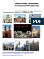 Is Design of Minaret is Patent for Pakistani Islam