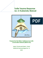 Bluvias and Eckert Sea Turtle Husbandry Manual 2010