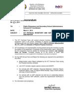 D.M. No.47, s.,2011 Physical Inventory - DIvision of Cebu City