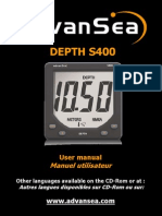 ADVANSEA DepthS400 User Manual Uk