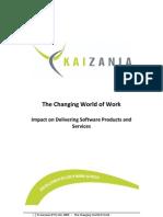 Kaizania White Paper - The Changing World of Work