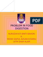 Problem in Food Digestion 2003 New