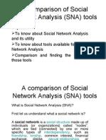 Comparitive Study of SNA