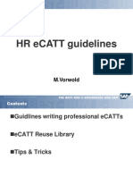 Ecatt Hr Guide