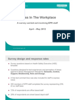 EPR Stress Survey - Staff