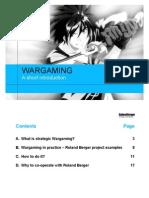 WAR GAMING