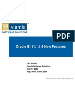 Oracle BI 11.1.1.6 New