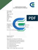 Form Pendaftaran STAF HIMA D3KKIM 2012-2013